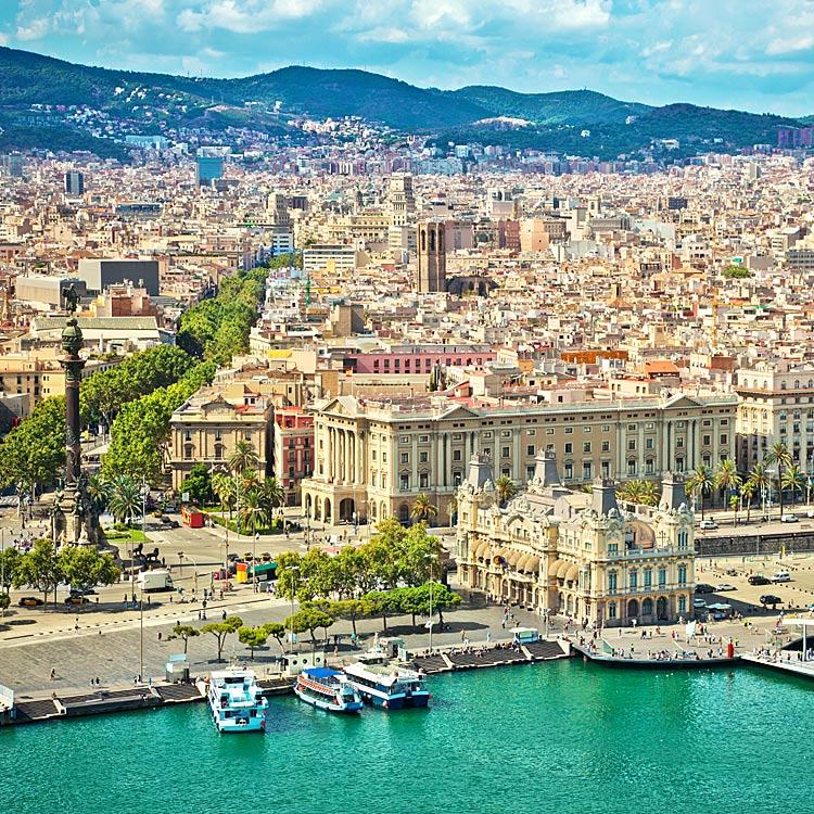 billig fly og hotel til barcelona