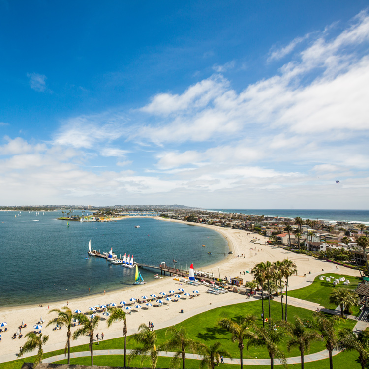 Mission Bay, San Diego, California, USA