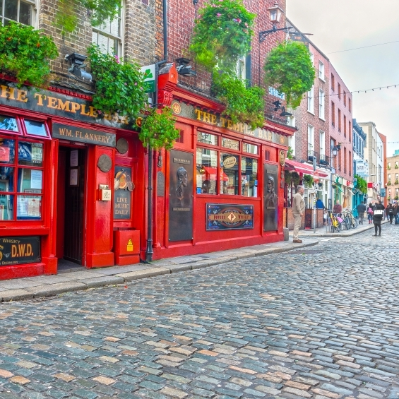 Dublin Tempel Bar Ireland